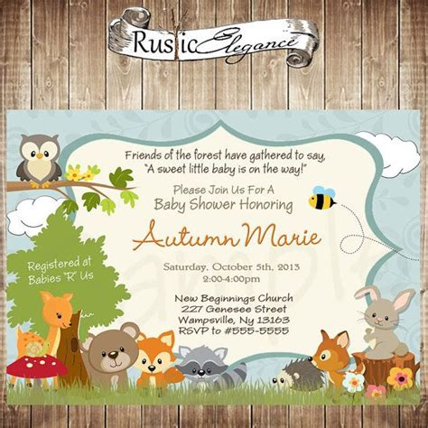 Forest Animal Baby Shower by 173 Best Images About Adventure Baby Shower On