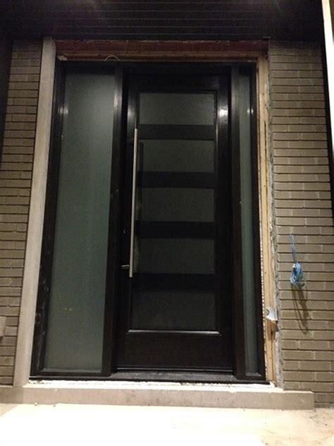 modern contemporary front entrance exterior door
