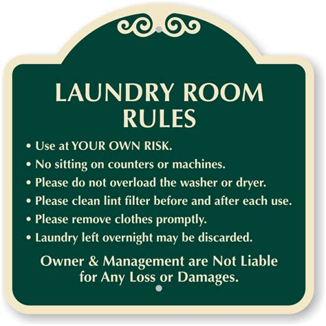 laundry room etiquette laundry room designer sign ships fast free sku k 0587