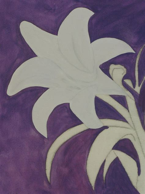 how to paint how to paint a lily step by step