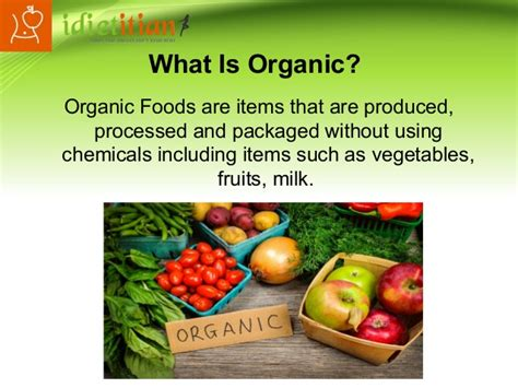 best organic foods organic food diet plan