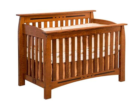 Amish Baby Cribs by Amish Made Baby Furniture