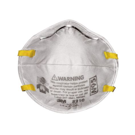 3m n95 particulate respirator dust mask 20 pack 8210ppb1