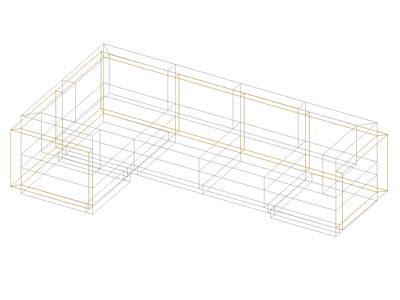 divani cad blocchi cad e librerie arredi interni divano 03