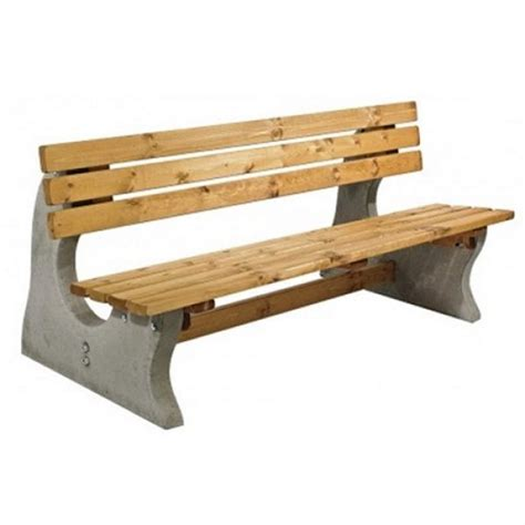 park bench buy concrete and timber park bench buy online from kingfisher direct