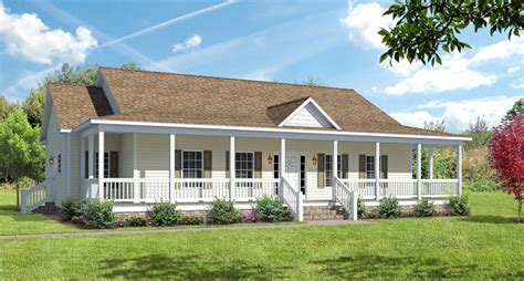wrap around porch houses for sale covered wrap around porch on ranch the ashton i floor