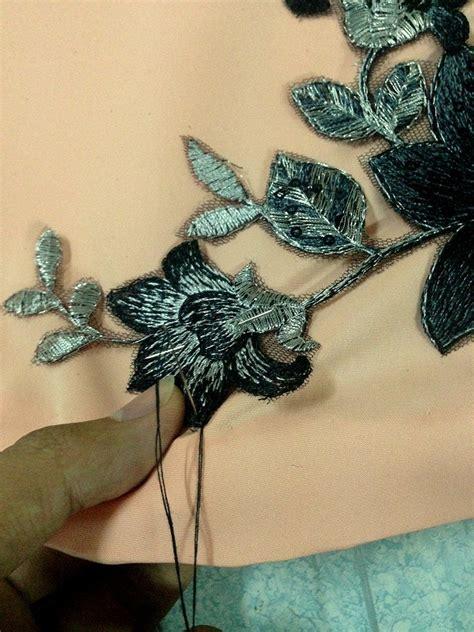 Renda Bunga By Al mohd faiz haikal cara menjahit lace dan manik