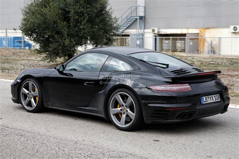 porsche carrera 2015 spyshots 2015 porsche 911 turbo getting facelift