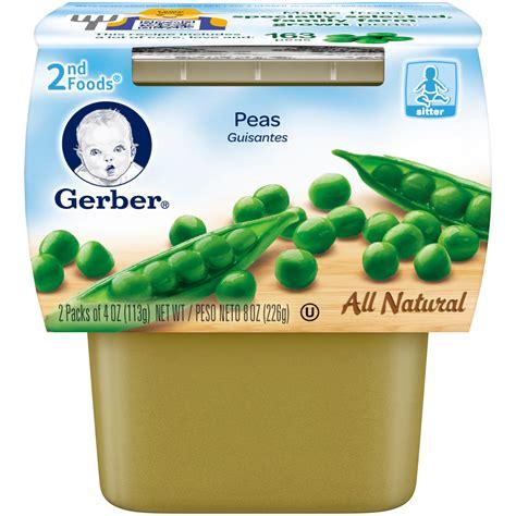 gerber s gerber 2nd foods peas 8oz shop your way online shopping