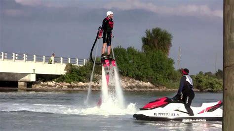 jet ski water rocket flyboarding jet pack for your feet youtube