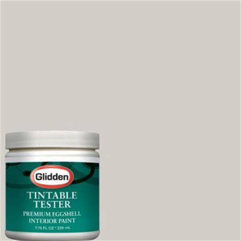 glidden premium 8 oz smooth interior paint tester gln36 d8 the home depot
