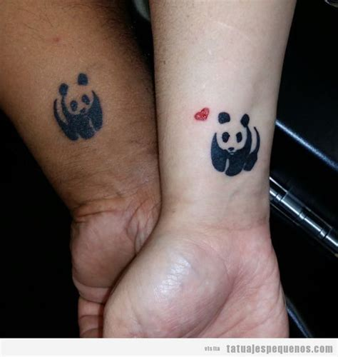 panda angel tattoo tatuaje peque 241 o en pareja oso panda tattoos pinterest