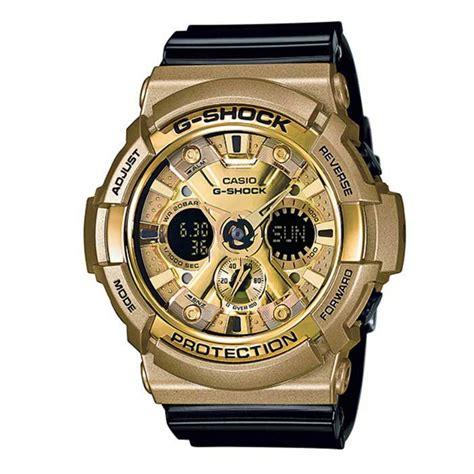 Gshock Line Black Gold casio g shock ga 200gd 9b2cr s black band gold