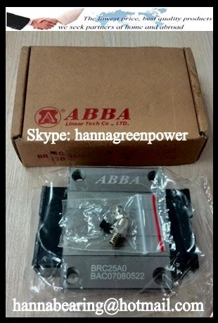 Block 330 Pcs brc30a0 linear guide rail block 28x90x42mm brc30a0 bearing 28x90x42 hongkong boukeylin