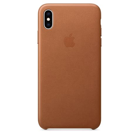 apple iphone xs max leather case saddle brown blink kuwait
