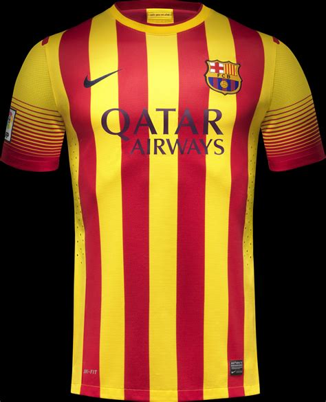 barcelona home kit fc barcelona 13 14 home away kits released third kit