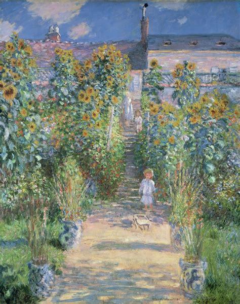 biography of artist claude monet claude monet the artist s garden at v 233 theuil 1880 artsy