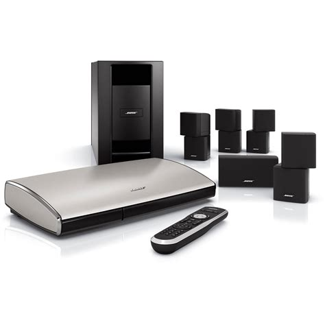 bose lifestyle t20 home theater system black 318043 1100 b h