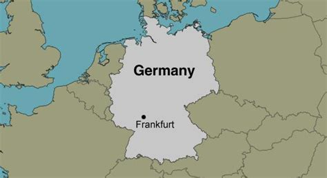 germany location map frankfurt germany location map