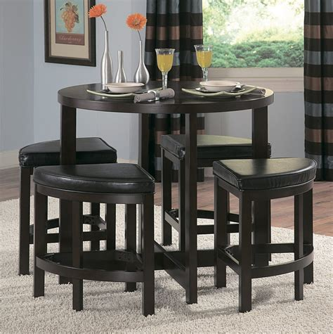 tall dining room set homelegance brussel ii 5 piece counter height dining room