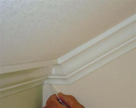 Crown Molding Separating From Ceiling by Installing Crown Moulding Slanted Ceilings Projects