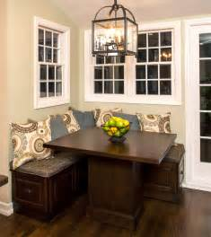Kitchen Table With Bench Seating Bench Kitchen Tables On
