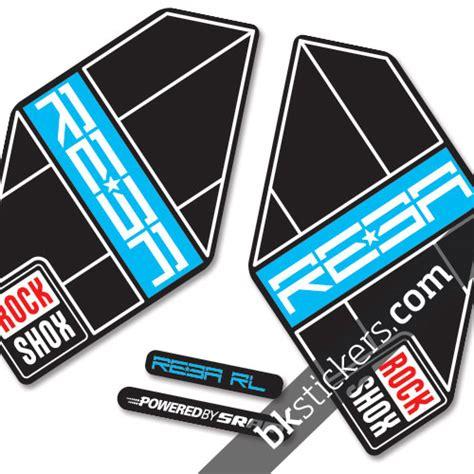 20020 Blue Tas Import rockshox reba 2012 b bkstickers