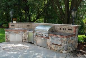 Pool And Outdoor Kitchen Designs Bbq Outdoor Kitchens Nj Built In Grill Fireplace Design Ideas