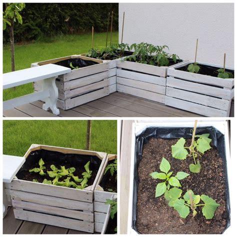 Garten Terrasse Holz 913 by Die Besten 25 Holzkiste Ideen Auf Diy M 246 Bel