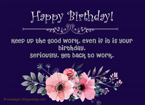 Happy Birthday Wishes Sentences Birthday Wishes For Boss 365greetings Com