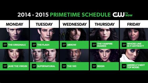 c w the cw fall 2014 premiere dates 171 cw seattle