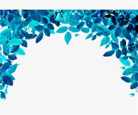 Kemeja Green Blue Leaf blue leaves leaves blue background posters blue background png image and clipart for free