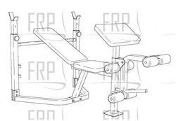 weider pro 208 weight bench weider pro 208 831 150860 fitness and exercise equipment repair parts
