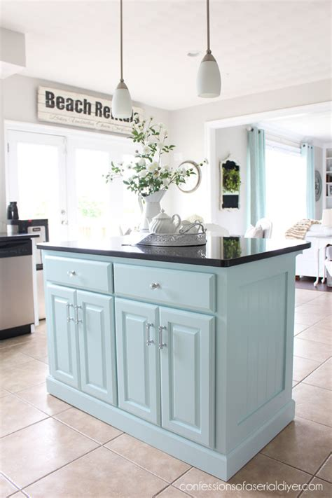 diy kitchen islands 2018 kitchen island makeover with beadboard confessions of a serial do it yourselfer