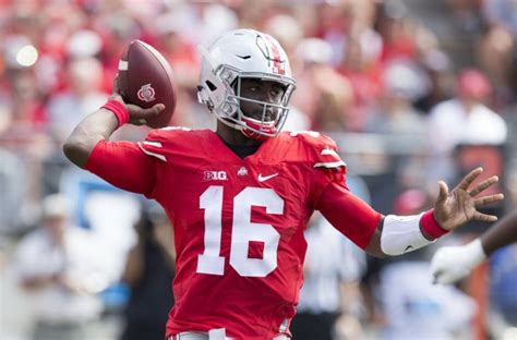 Ohio State Records J T Barrett Ohio State Football Smash Offensive Records