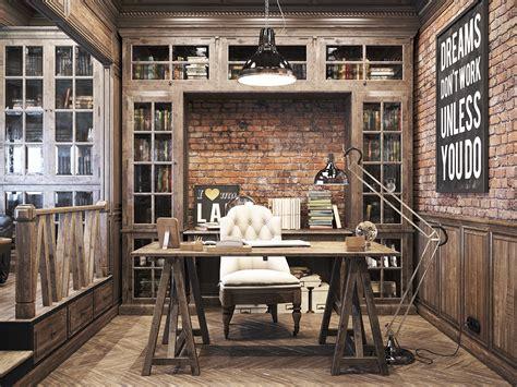 vintage home decore vintage office for a private residence denis krasikov