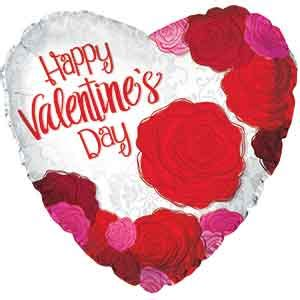 big valentines day balloons s day big roses foil balloons