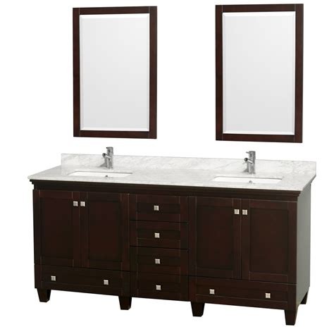 Wyndham Bathroom Vanities by 72 Quot Acclaim Bathroom Vanity Set By Wyndham