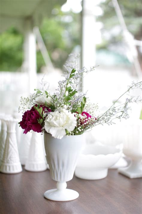 Milk Glass Vases For Sale by 17 Best Images About Recycle Your Wedding On