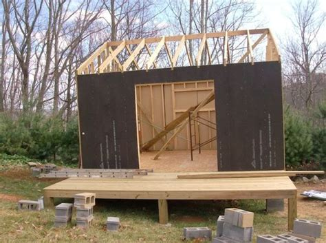 how to make a small house how to build small cabin