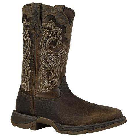 western cowboy boots rebel by durango 174 10 quot steel toe western boot