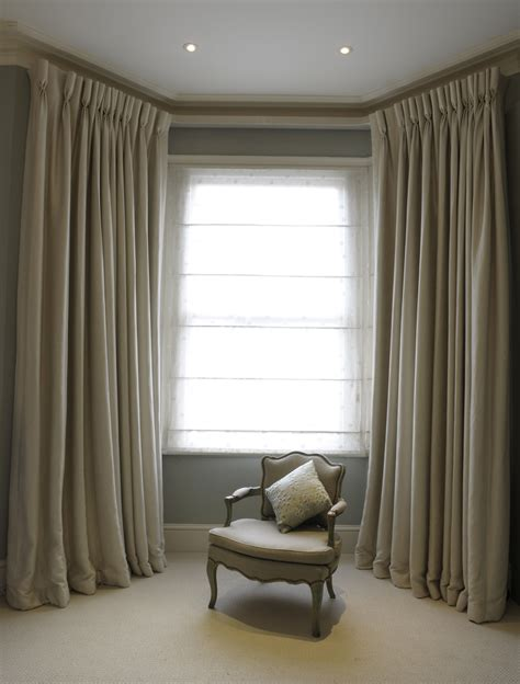 cream bedroom curtains bespoke cream curtains with goblet pleat heading covered