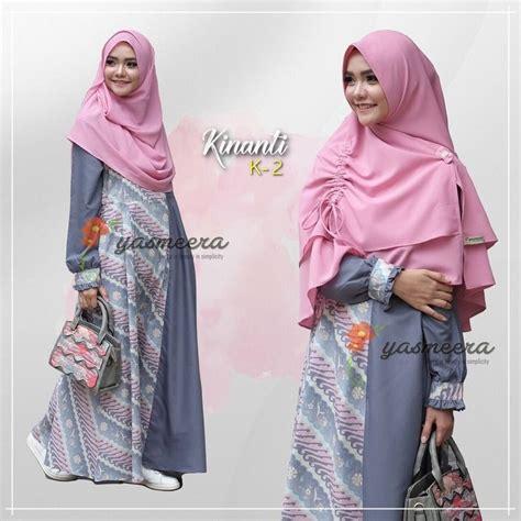 Maxi 23 Busana Muslim Masa Kini Gamis Modern Kekinian busana muslim beraneka motif busana muslim masa kini