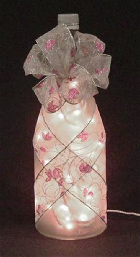 crafts with lights 25 best ideas about wine bottle wrapping on