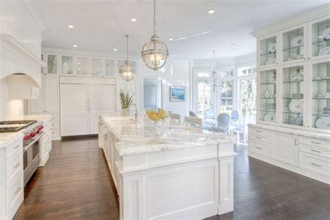 Round Glass Top Dining Room Table by Breakfast Nook In Bay Window Transitional Kitchen