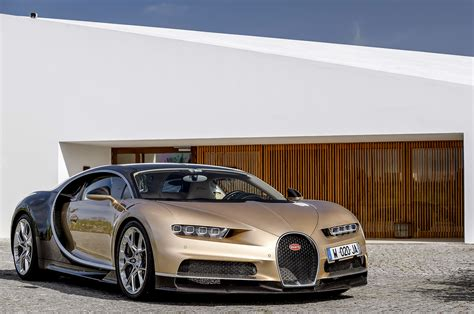 gold bugatti chiron 2018 bugatti chiron drive review automobile magazine