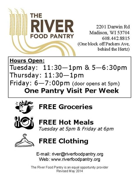 River Food Pantry Wi by River Food Pantry Supermarkets 2201 Darwin Rd Berkley Oaks Wi United States