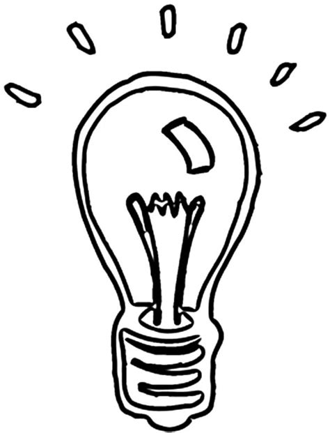 light bulb coloring page free coloring pages of edison light bulb