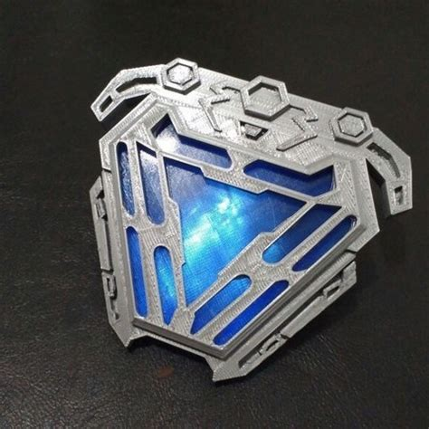 printer files arc reactor nanotech iron man