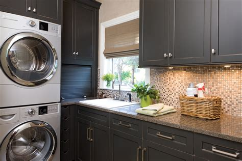 brushed nickel cabinet pulls laundry room traditional with